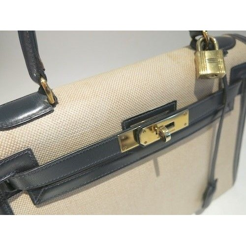 Authentic Vintage HERMES kelly 28 from 1980