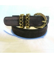 PALOMA PICASSO SUEDE Leather Belt Brown 70 / Small 1162