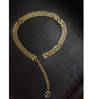 Paloma Picasso X Gold Plated Chain Belt