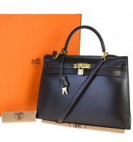 AUTHENTIC HERMES KELLY 35 HAND BAG